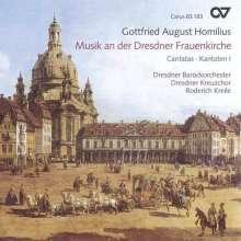 Gottfried August Homilius (1714-1785): Kantaten für die Dresdner Frauenkirche, CD