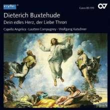 """Dieterich Buxtehude (1637-1707): Geistliche Werke II """"Dein edles Herz,der Liebe Thron"""", CD"""