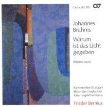 Johannes Brahms (1833-1897): Missa canonica WoO.18, CD