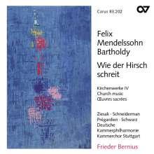 Felix Mendelssohn Bartholdy (1809-1847): Geistliche Chorwerke Vol.4, CD