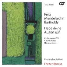 Felix Mendelssohn Bartholdy (1809-1847): Geistliche Chorwerke Vol.7, CD