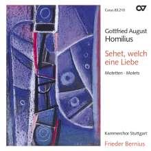 Gottfried August Homilius (1714-1785): Motetten I, CD