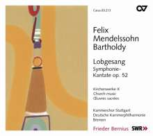 Felix Mendelssohn Bartholdy (1809-1847): Geistliche Chorwerke Vol.10, CD
