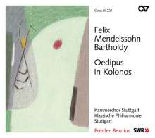 Felix Mendelssohn Bartholdy (1809-1847): Oedipus in Kolonos op.93 (Schauspielmusik), CD