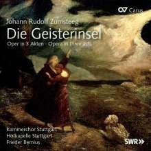 Johann Rudolf Zumsteeg (1760-1802): Die Geisterinsel (Singspiel in 3 Akten), 3 CDs