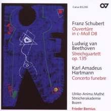 Ludwig van Beethoven (1770-1827): Streichquartett Nr.16 (Fassung für Streichorchester), CD