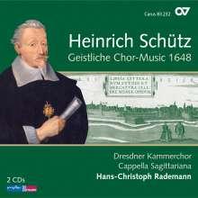 Heinrich Schütz (1585-1672): Geistliche Chor-Music 1648 (Carus Schütz-Edition Vol. 1), 2 CDs