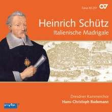 Heinrich Schütz (1585-1672): Italienische Madrigale (Carus Schütz-Edition Vol.2), CD