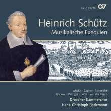 Heinrich Schütz (1585-1672): Musikalische Exequien (Carus Schütz-Edition Vol. 3), SACD