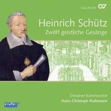 Heinrich Schütz (1585-1672): Zwölf geistliche Gesänge (Carus Schütz-Edition Vol. 4), CD