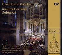 Georg Friedrich Händel (1685-1759): Solomon, 3 SACDs