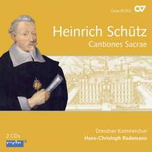 Heinrich Schütz (1585-1672): Cantiones Sacrae (Carus Schütz-Edition Vol. 5), 2 CDs