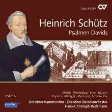 Heinrich Schütz (1585-1672): Psalmen Davids SWV 22-47 (Carus Schütz-Edition Vol. 8), 2 Super Audio CDs