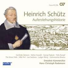 Heinrich Schütz (1585-1672): Auferstehungshistorie SWV 50 (Carus Schütz-Edition Vol. 9), CD