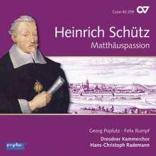 Heinrich Schütz (1585-1672): Matthäuspassion SWV 479 (Carus Schütz-Edition Vol.11), CD