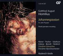 Gottfried August Homilius (1714-1785): Johannespassion, 2 CDs