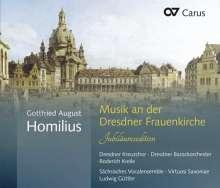 Gottfried August Homilius (1714-1785): Musik an der Dresdner Frauenkirche (Jubiläumsedition), 2 CDs