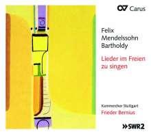 Felix Mendelssohn Bartholdy (1809-1847): Weltliche Chorlieder - Lieder im Freien zu Singen, CD