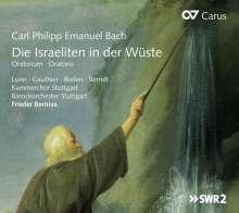 Carl Philipp Emanuel Bach (1714-1788): Die Israeliten in der Wüste Wq.238, CD