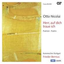 Otto Nicolai (1810-1849): Psalmen, CD