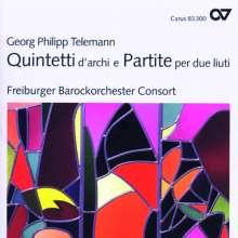 Georg Philipp Telemann (1681-1767): Partien TWV 39 Nr.1 & 2 f.2 Lauten, CD