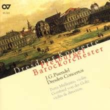 Johann Georg Pisendel (1687-1755): Dresden Concerti, CD