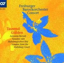 Antonio Bertali (1605-1669): 12 Sonaten vom Habsburgischen Hof, CD