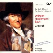 Wilhelm Friedemann Bach (1710-1784): Konzert f.2 Cembali Es-Dur F.46, CD