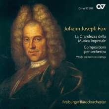 Johann Joseph Fux (1660-1741): La Grandezza della Musica Imperiale (Orchesterwerke), CD