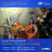 Georg Friedrich Händel (1685-1759): Utrechter Te Deum HWV 278, CD