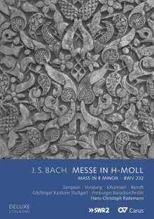 Johann Sebastian Bach (1685-1750): Messe h-moll BWV 232 (Deluxe-Ausgabe mit DVD), 2 CDs