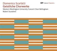 Domenico Scarlatti (1685-1757): Geistliche Chorwerke, CD