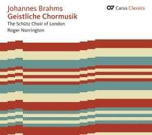 Johannes Brahms (1833-1897): Geistliche Chorwerke a cappella, CD