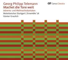 Georg Philipp Telemann (1681-1767): Advents- & Weihnachtskantaten, CD