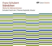 Franz Schubert (1797-1828): Lieder für Männerchor, CD