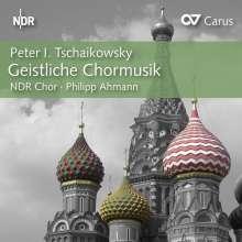Peter Iljitsch Tschaikowsky (1840-1893): Geistliche Chormusik, CD
