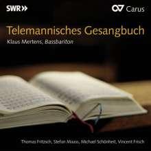 Georg Philipp Telemann (1681-1767): Telemannisches Gesangbuch, CD