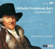 Wilhelm Friedemann Bach (1710-1784): Claviermusik I, CD