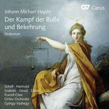 Michael Haydn (1737-1806): Der Kampf der Buße und Bekehrung (Oratorium), CD