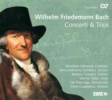 Wilhelm Friedemann Bach (1710-1784): Cembalokonzerte D-Dur & g-moll, CD