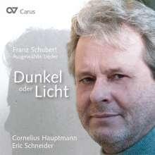 "Franz Schubert (1797-1828): Lieder - ""Dunkel oder Licht"", CD"