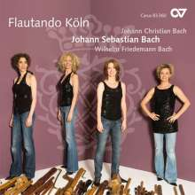 Flautando Köln - Werke für Blockflötenensemble, CD