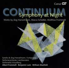 Continuum - Symphony at Night, CD