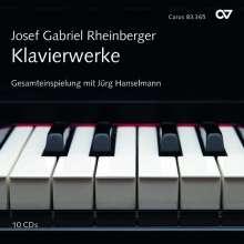 Josef Rheinberger (1839-1901): Das Klavierwerk, 10 CDs