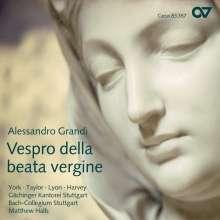 Alessandro Grandi (1575-1630): Vespro della Beata Vergine, CD