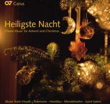 """Chormusik zu Advent & Weihnachten - """"Heiligste Nacht"""", CD"""