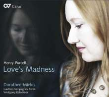"Henry Purcell (1659-1695): Lieder ""Love's Madness"", CD"