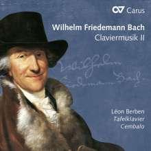 Wilhelm Friedemann Bach (1710-1784): Claviermusik II, CD