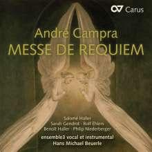Andre Campra (1660-1744): Requiem (Messe da Requiem), CD