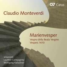 Claudio Monteverdi (1567-1643): Vespro della beata vergine, CD